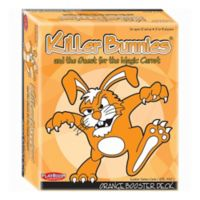 Playroom Entertainment Killer Bunnies and the Quest for the Magic Carrot: Booster Deck in Orange
