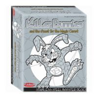 Playroom Entertainment Killer Bunnies and the Quest for the Magic Carrot: Booster Deck in Grey