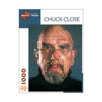 Chuck Close Self Portrait Puzzle