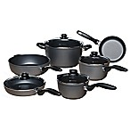 Swiss Diamond® 10-Piece Nonstick Aluminum Cookware Set