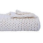 Berkshire Blanket Chunky Throw Blanket in White