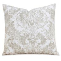 SIScovers® Parlour Square Throw Pillow in Tan