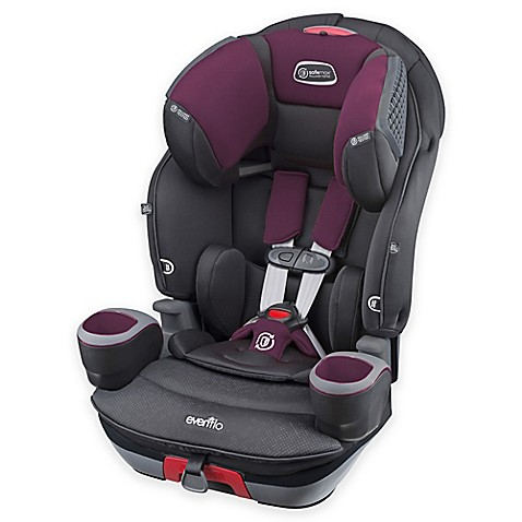 evenflo safemax 3 in 1 combination booster seat in purple berry buybuy baby. Black Bedroom Furniture Sets. Home Design Ideas