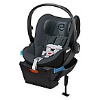 Cybex Platinum Cloud Q Infant Car Seat with Load Leg Base in Black Sea