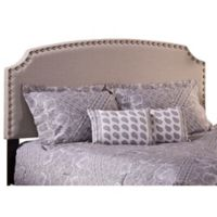 Hillsdale Lani Full Headboard with Frame in Light Grey
