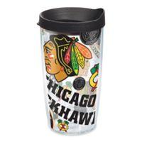 8182d2fd43034 Tervis® NHL Chicago Blackhawks 16 oz. Allover Wrap Tumbler with Lid
