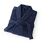 Martex Large Terry Unisex Bath Robe in Navy