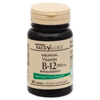 Harmon® Face Values® 60-Count 2500 mcg Sublingual Vitamin B-12 Tablets