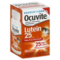 Ocuvite® 30-Count Lutein 25 Soft Gels