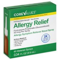 Core Values™ .34 fl. oz. Fluticasone 24-Hour Relief Allergy Symptom Reliever Nasal Spray