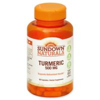 Sundown® Naturals 90-Count 500 mg Turmeric Capsules