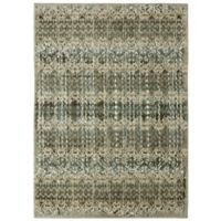 "Patina Vie by Karastan 5'3"" x 7'10"" Serenade Daydream Rug in Willow Grey"