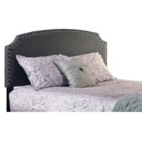 Hillsdale Lani Twin Headboard in Dark Grey