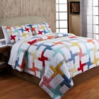 Amity Home Georgina Twin Quilt Set in White