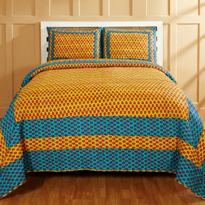 Buy Blue and Yellow Quilts from Bed Bath & Beyond : blue and yellow quilt - Adamdwight.com