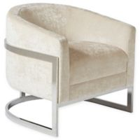 Madison Park Haven Accent Chair in Cream