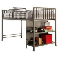 Hillsdale Kids and Teen Brandi Junior Loft Bed in Stone
