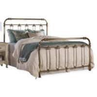 Hillsdale Furniture Samantha Queen Bed Set with Frame in Gold