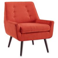 Linon Home Tiffany Chair in Orange