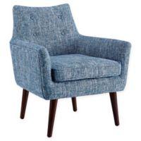 Linon Home Ava Chair in Blue