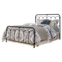 Hillsdale Furniture Jocelyn King Bed Set with Frame in Black