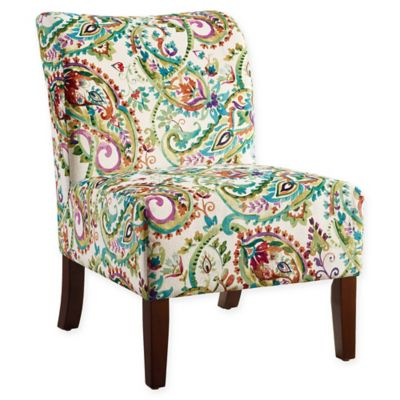 Linon Home Julie Curved Back Slipper Chair