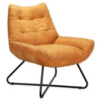 Moe's Home Collection Graduate Lounge Chair in Tan