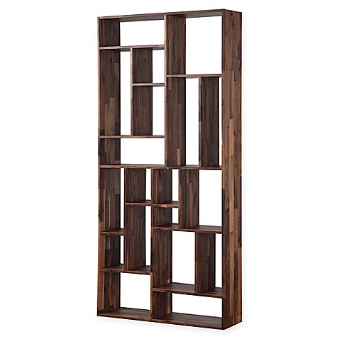 image of Moe's Home Collection Redemption Bookcase in Brown