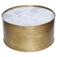 Ren-Wil Domingo Accent Table in Antique Gold