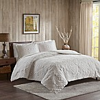 Woolrich® Teton Plush Full/Queen Coverlet Set in Ivory