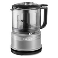 KitchenAid® Food Processor with Dual Speed in Grey Matte