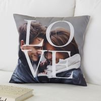 LOVE 14-Inch Square Throw Pillow