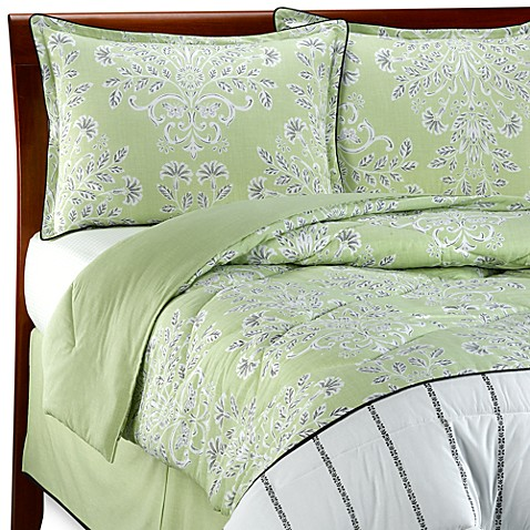 laura ashley holbeck twin comforter set bed bath beyond. Black Bedroom Furniture Sets. Home Design Ideas