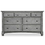 evolur™ Cheyenne/Santa Fe Double Dresser in Storm Grey