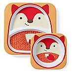 SKIP*HOP® Zoo Bowl and Plate Set in Fox