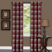 Achim Harvard 63-Inch Grommet Top Window Curtain Panel in Burgundy