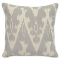 Villa Home Fae Square Throw Pillow in Grey