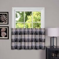 Achim Harvard 36-Inch Kitchen Window Curtain Tier Pair in Tan