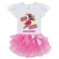 Power Rangers™ Size 3T Go Girl Pink Ranger Tutu T-Shirt