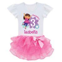 Dora and Friends™ Size 5/6 Birthday Fun Girl Tutu T-Shirt