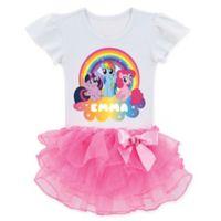 My Little Pony™ Size 3T Rainbow Magic Tutu T-Shirt