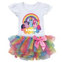 My Little Pony™ Magic Size 4T Rainbow Tutu T-Shirt