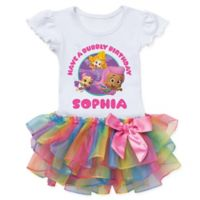 Bubble Guppies™ Birthday Size 2T Rainbow Tutu T-Shirt
