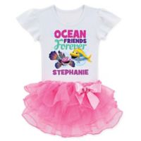 Splash and Bubbles™ Size 2T Ocean Friends Tutu T-Shirt
