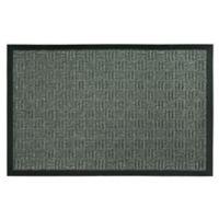 Bacova Floor Saver 23-Inch x 35-Inch Door Mat in Parquet Grey