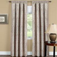 Achim Sutton 63-Inch Rod Pocket Room Darkening Window Curtain Panel in Tan