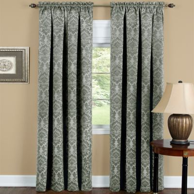 Achim Sutton 63 Inch Rod Pocket Room Darkening Window Curtain Panel In Sage