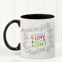 Reasons Why For Her 11 oz. Photo Coffee Mug in Black/White