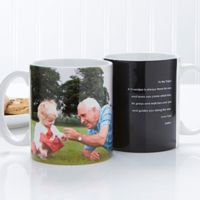 Photo Sentiments For Him 11 oz. Mug in White
