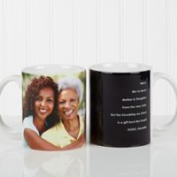 Photo Sentiments For Her 11 oz. Mug in White